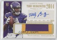 Teddy Bridgewater #/15