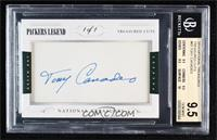 Tony Canadeo [BGS 9.5 GEM MINT] #/1