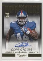 Andre Williams #24/99