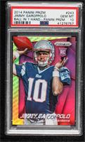 Jimmy Garoppolo (Arm Raised) [PSA 10 GEM MT]