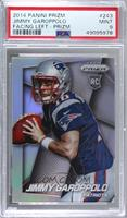 Jimmy Garoppolo (Both Hands on Ball, Facing Right) [PSA9MINT]