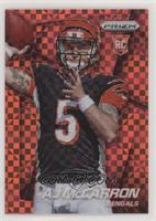 AJ McCarron (Mid Throw) #/125