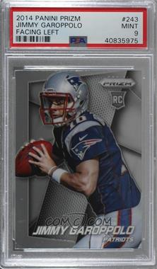 2014 Panini Prizm - [Base] #243.1 - Jimmy Garoppolo (Both Hands on Ball, Facing Right) [PSA 9 MINT]
