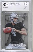Derek Carr (Ball in Right Hand, Looking Left) [BCCG Mint]