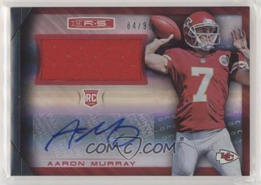 2014 Panini Rookies & Stars - Rookie Materials Signatures - Longevity Parallel Holofoil #RM-AM - Aaron Murray /99