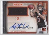 AJ McCarron #/75