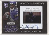 Teddy Bridgewater #/100