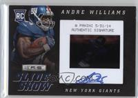 Andre Williams #/100