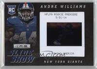 Andre Williams #/25