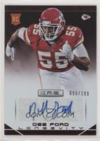 Dee Ford [Noted] #/199