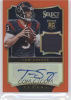 Tom Savage #/25