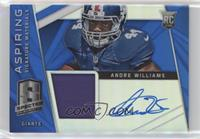 Andre Williams #/15