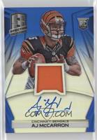 Rookie Jersey Autographs - AJ McCarron #/49