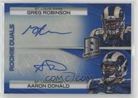 Aaron Donald, Greg Robinson /49