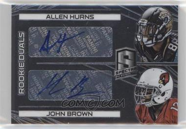 2014 Panini Spectra - [Base] #242 - Rookie Autographs Dual - Allen Hurns, John Brown /149
