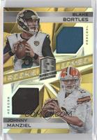 Blake Bortles, Johnny Manziel /25