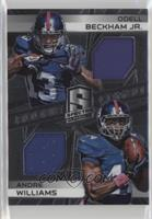 Andre Williams, Odell Beckham Jr. #/199