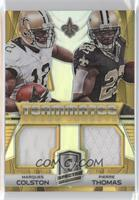 Marques Colston, Pierre Thomas /15