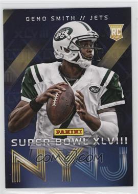 2014 Panini Super Bowl XLVIII - New York Jets #1 - Geno Smith
