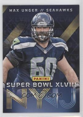2014 Panini Super Bowl XLVIII - Seattle Seahawks #5 - Max Unger