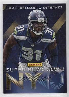 2014 Panini Super Bowl XLVIII - Seattle Seahawks #8 - Kam Chancellor