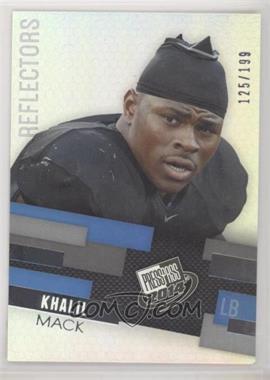 2014 Press Pass - [Base] - Reflectors #29 - Khalil Mack /199