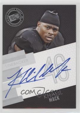 2014 Press Pass - Signings - Silver #PPS-KM - Khalil Mack