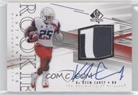 Rookie Patch Autographs - Ka' Deem Carey #/550