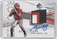 Rookie Patch Autographs - Aaron Murray /550