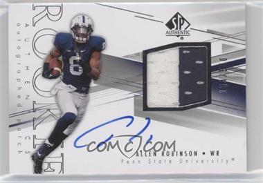 2014 SP Authentic - [Base] #212 - Rookie Patch Autographs - Allen Robinson /550