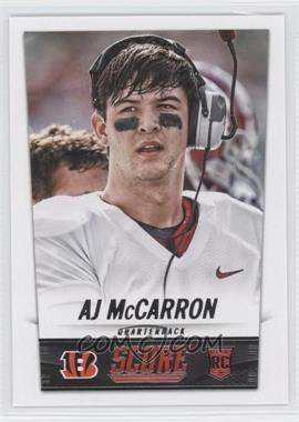 2014 Score - [Base] #331 - AJ McCarron
