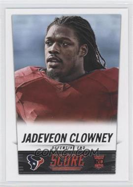 2014 Score - [Base] #374 - Jadeveon Clowney