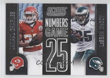 2014 Score - Numbers Game #NG28 - LeSean McCoy, Jamaal Charles