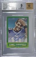 Jimmy Garoppolo [BGS9MINT] #/150