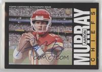 Aaron Murray [Noted] #/150
