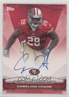 Carlos Hyde [Noted] #/90