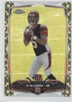 AJ McCarron #/499