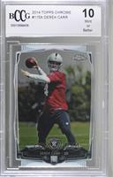 Derek Carr (With Ball) [BCCGMint]