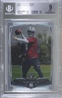 Derek Carr (With Ball) [BGS 9 MINT]