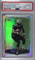 Brandin Cooks (Ball at Chest) [PSA 10 GEM MT]