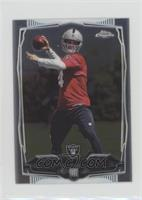 Derek Carr (Ball Showing) [Noted]
