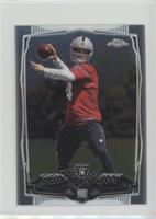 Derek Carr (Ball Showing)