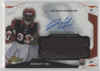 2014 Topps Finest - Autograph Jumbo Relics #AJR-JH - Jeremy Hill