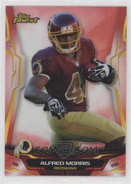 2014 Topps Finest - [Base] - Red Refractor #66 - Alfred Morris /50