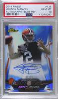 Johnny Manziel [PSA 10 GEM MT] #/25
