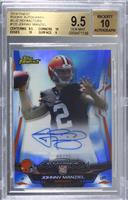 Johnny Manziel [BGS 9.5 GEM MINT] #/25