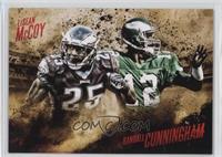 LeSean McCoy, Randall Cunningham