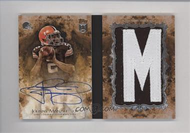 2014 Topps Inception - Autograph Letters Booklets #IAL-JM - Johnny Manziel /1