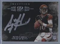 AJ McCarron #/50