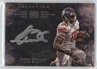 Andre Williams #/50